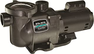 Pentair Sta-Rite PHKN2RA6G-104L SuperMax Single Speed Standard Efficiency High Performance Inground Pool Pump without Union, 2 HP, 230-Volt