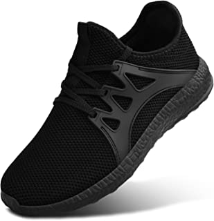 Mens Sneakers Gym Running Walking Sport Lightweight Breathable Mesh Casual Shoes