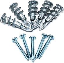 Ankers Pluggen, Zelfboren Drywall Anchors 13x41mm met # 8x1-1/4 PAN Hoofdschroeven Kit, gipsplaatbevestigingsholte Muursne...