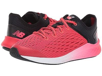 New Balance Kids Fresh Foam Fast (Little Kid/Big Kid) (Black/Energy Red) Boys Shoes