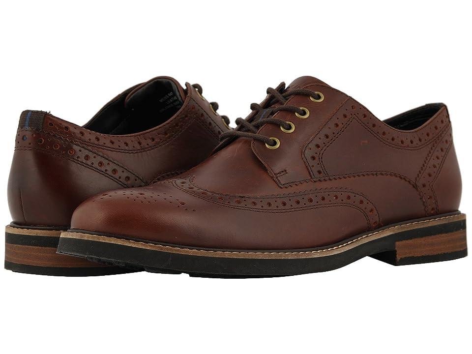 Nunn Bush Oakdale Wingtip Oxford with KORE Walking Comfort Technology (Rust) Men
