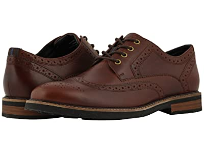 Nunn Bush Oakdale Wingtip Oxford with KORE Walking Comfort Technology (Rust) Men