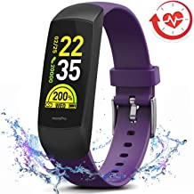 MorePro HRV Fitness Tracker with Heart Rate Blood Oxygen Saturation Monitor SpO2, Waterproof Color Screen Activity Health Trackers with Sleep Tracking Calorie Step for Women and Men