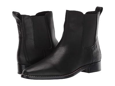 J.Crew Leather Chelsea Boot (Black) Women