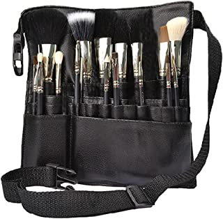 Rubik 22 Pockets Professional Cosmetic Makeup Brush Bag with Artist Belt Strap for Women ( Brush Not Included )