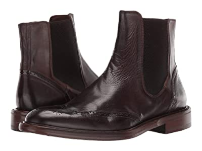 J&M EST. 1850 Bryson Zip Gore Boot (Tobacco) Men