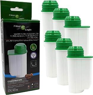 6x FilterLogic CFL-901B filtre à eau remplace BRITA Intenza TCZ7003 - TCZ7033 - TZ70003-575491 - 467873-1016723 Cartouche ...