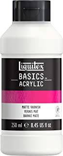 Liquitex 1041007 BASICS Matte Varnish, 250ml, Assigned
