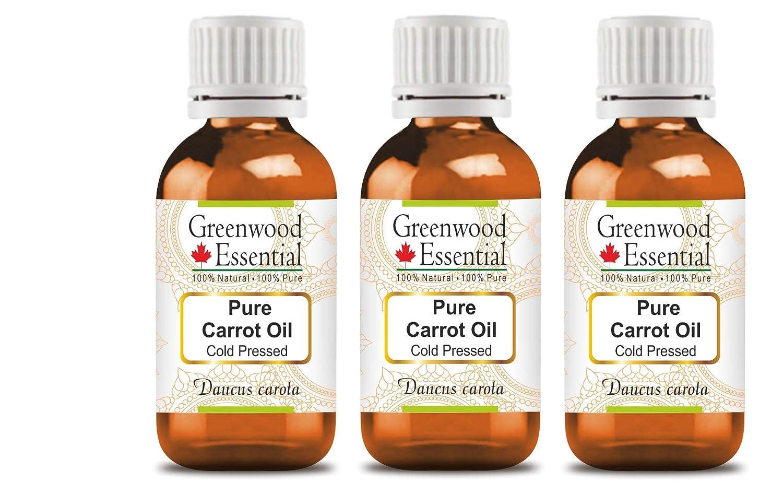 Greenwood Essential Pure Carrot Direct store Oil Daucus carota 100% Natural Max 88% OFF