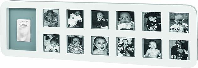 Baby Art Baby Art First Year Print Frame White & Grey, Piece of 1