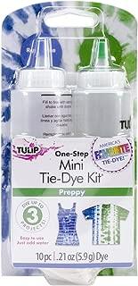 Tulip One-Step Tie Dye Kit, Mini, Preppy, 2-Pack
