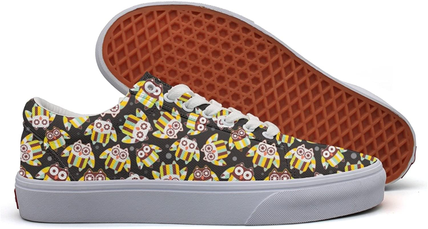 Cute Owl Party Favors Women's Casual shoes Sneakers Footwear Slip On Fashion Original