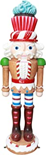 Queens of Christmas E Gingerbread Nutcracker 3D, Brown, Red, White, Purple, Pink, Green