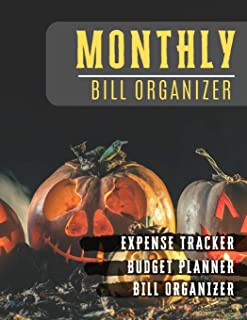 Monthly Bill Organizer: budget planner for beginners with income list,Weekly expense tracker ,Bill Planner, Financial Planning Journal Expense Tracker ... design (Financial Planner Budget Book)