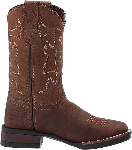 Brown Crazy Horse Leather Vamp & Shaft