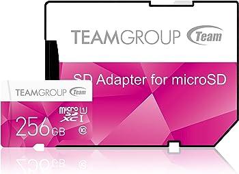 Team Group Color Card 256GB microSDXC Card