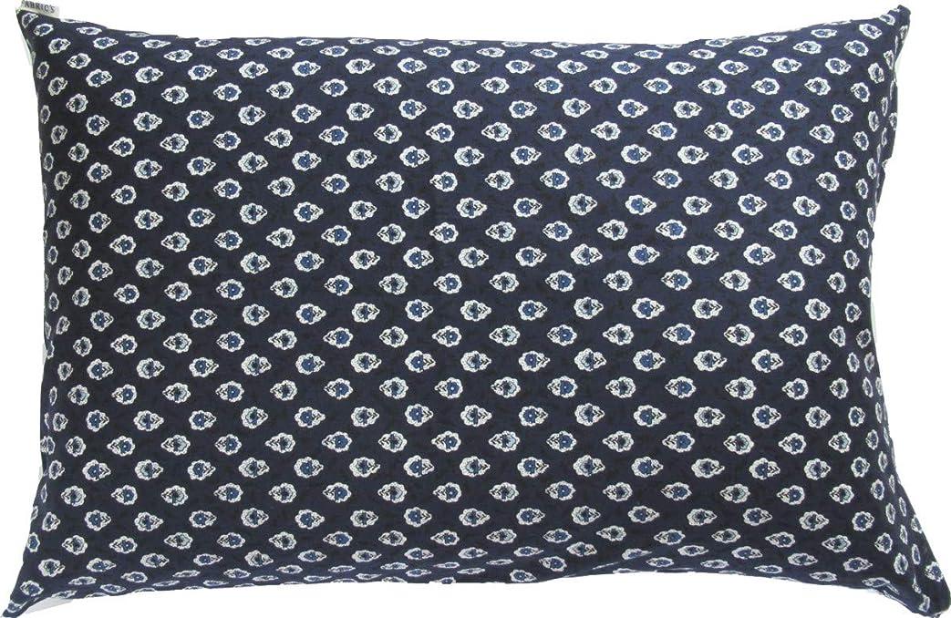 フィヨルド最適プログラム枕カバー プロヴァンスⅡ ネイビー FABRIC'Sファブリックス 紺 南フランス 43×63cm