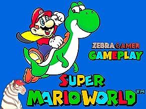 Clip: Super Mario World Gameplay - Zebra Gamer