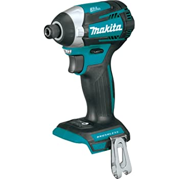 Makita XDT14Z 18V LXT Lithium-Ion Brushless Cordless Quick-Shift Mode 3-Speed Impact Driver, Tool Only,