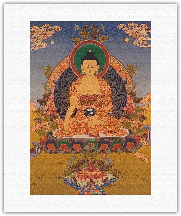 Shakyamuni Buddha in Bhumisparsha Mudra The Touching V Earth Daily bargain sale - Washington Mall
