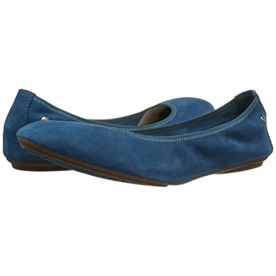 Hush Puppies Chaste Ballet (Dark Teal Suede) Women