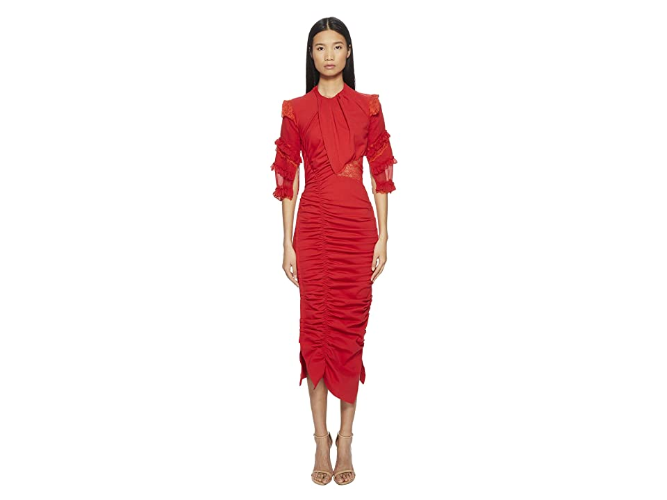 Preen by Thornton Bregazzi Ginger Dress (Red) Women