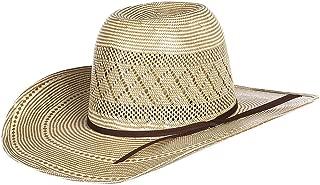 RODEO KING Mens Dusty 4 1/4 Brim Natural Straw Cowboy Hat 71/4 Tan