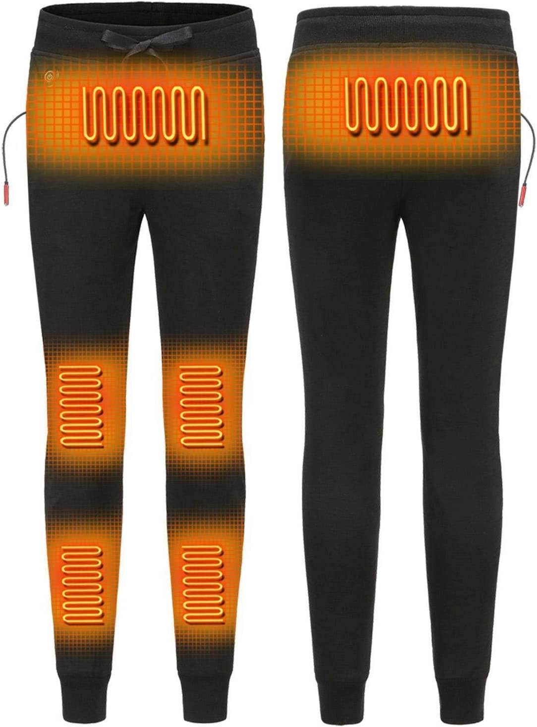 Heated Pants Electric USB Heating Thermal Underwear Heated Pants Washable Thermal Pants Three-Speed Temperature Control