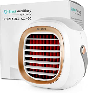 BLAUX Evaporative Air Cooler G2 - Blast Auxiliary Personal Cooler For Room | 2000 mAh USB Battery Powered Portable Swamp C...