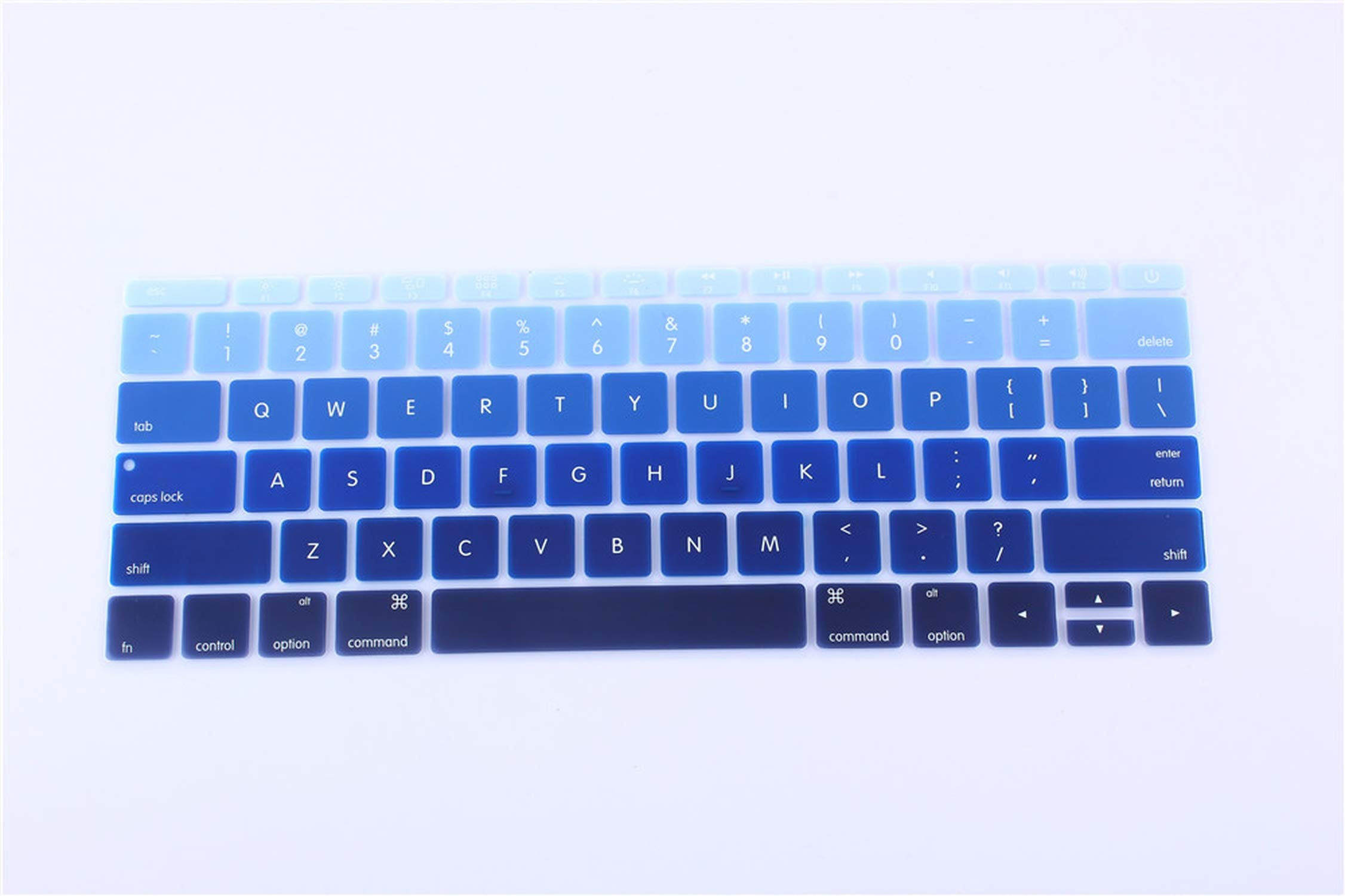 Keyboard Cover Skin Waterproof Dustproof Silicone Film Universal Keyboard Protector for 13 17 Inch Notebook-one/_Color