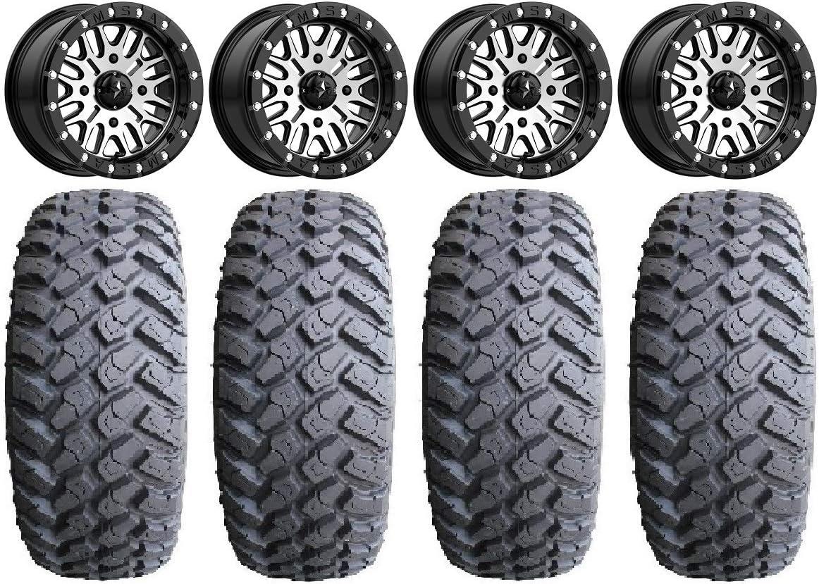 Bundle - 9 Items: MSA Brute Los Angeles Mall Beadlock Wheels MotoHamm Popular brand 32