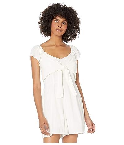 Volcom Coco Short Sleeve Romper (White) Women