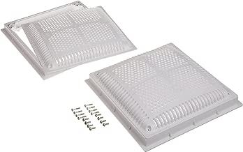 Hayward WG1032HF2PAK2 12-Inch Dual Pak High Flow Drain Cover and Frame