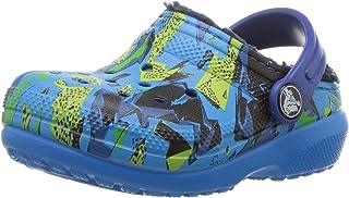 crocs ' 经典内衬图案洞洞鞋
