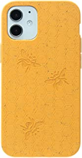 Pela: Phone Case for iPhone 12, 5.4 inch Screen -100% Compostable and Biodegradable - Eco-Friendly - Made from Plants (Cla...