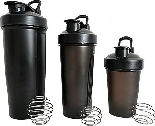 Blender Bottle Shaker Bottle Classic Loop, 3 - Pack ,14 oz, 20 oz, 30 oz ,Leak Proof BPA Free Plastic