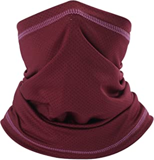 313c9d3d2aeb6 SUNMECI Summer Face Mask Breathable Sun Dust Protection Neck Gaiter for  Fishing Hiking Camping Outdoors Versatile