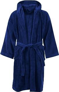 BNWT Girls Unicorn Fluffy Hooded Dressing Gown Robe Age 5-6 Years