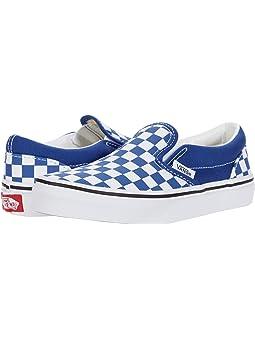blue checkered vans for kids