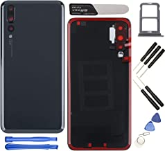"YHX-US Replacement for Huawei P20 Pro CLT-L09 CLT-L29 6.1"" Battery Back Cover Rear Door Housing Case with Camera Lens + A ..."