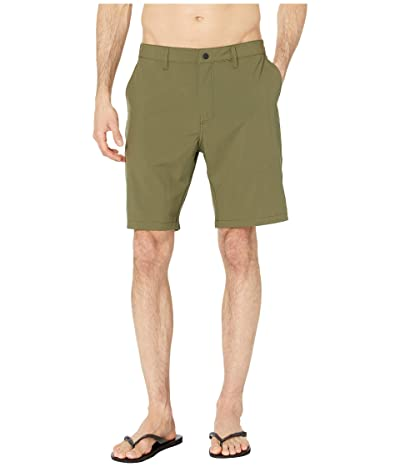 Quiksilver Waterman Backwater 20 Amphibian Boardshorts (Ivy Green) Men