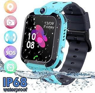 cd019300b Niños Smartwatch - Reloj de Pulsera Inteligente con Ubicación GPS/LBS Reloj  Despertador SOS Reloj