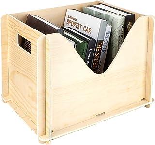 logozoee Boîtes en Bois, boîte de Rangement en Bois, boîte à Outils en Bois Bricolage tiroir de boîte à Jouets en Bois pou...