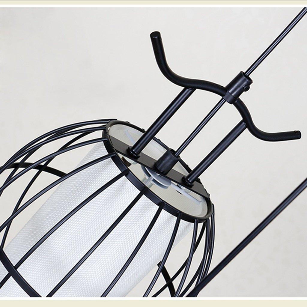 Amos Escalera de Caracol de Doble Nivel Retro Villa Escalera de Caracol Hierro Forjado lámpara de Jaula Restaurante Restaurante Chino lámparas de luz de Escalera (Color : Negro): Amazon.es: Hogar