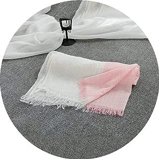 Soft Vintage Scarf Female Blend Cotton Shawl Cachecol Foulard Scarves Women Pashmina Wrap