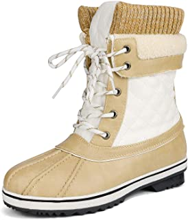 DREAM PAIRS Women's Monte_01 Snow Boots Winter