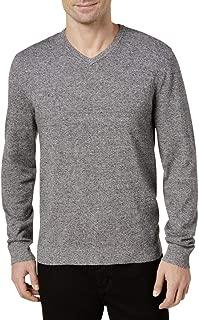Mens Regular Fit V-Neck Sweater