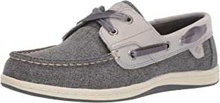 Sperry Womens Koifish Sparkle Chambray Boat Shoe