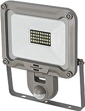 Brennenstuhl LED Buitenspot Jaro 3000P, voor Buiten met Bewegingsmelder, Wandmontage, 30 w, IP44, Zilver