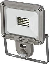 Brennenstuhl LED 室外射灯 JARO 3000P (适用于外部带运动探测器 用于壁挂安装 LED 泛光灯 30W 铝制 IP44) 银色